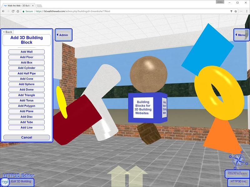 3D CMS - 3D Building Blocks