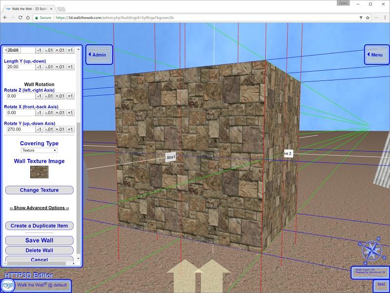 3D CMS Adding a 3D Building Block