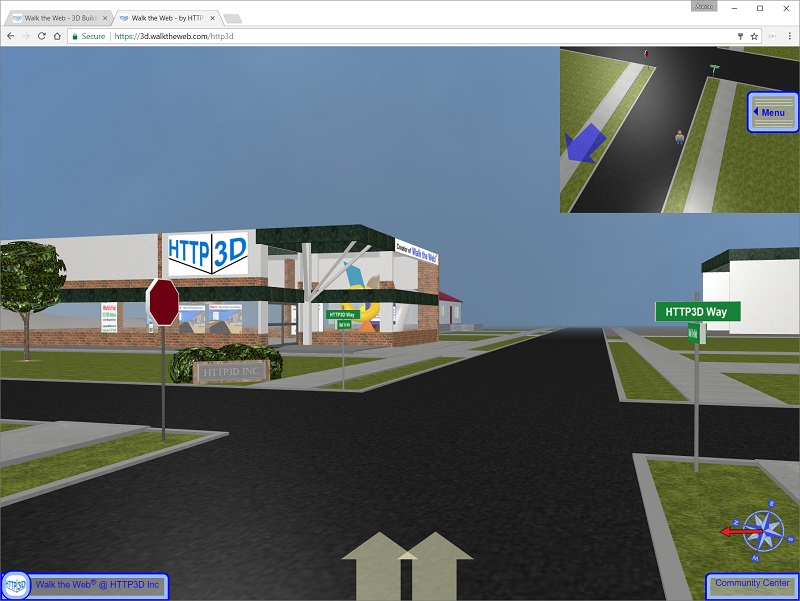 HTTP3D 3D Community