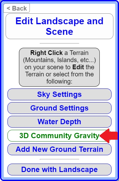 3D Community Gravity