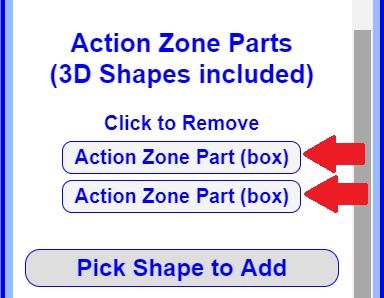 Action Zone Parts Added
