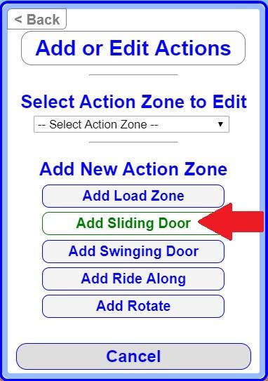 Add Sliding Door