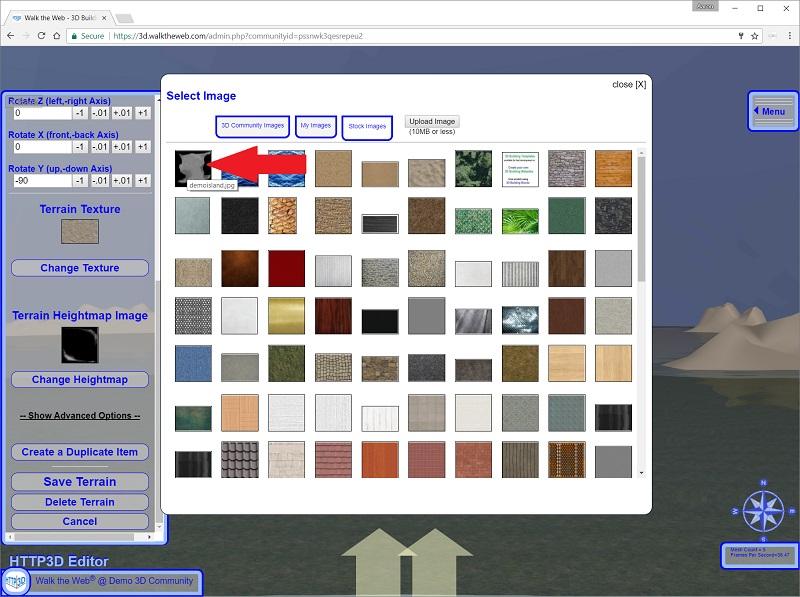 Select Heightmap