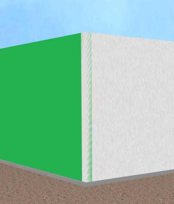 When Walls Intersect