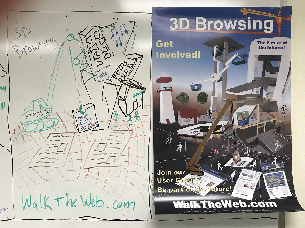 3D Browsing Get Involved Poster