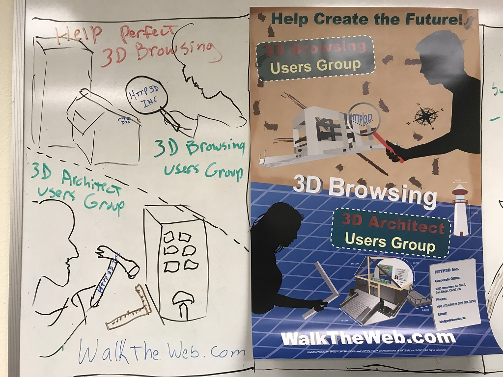 3D Browsing Users Groups Poster