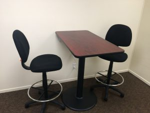 High Tables and Drafting Chairs