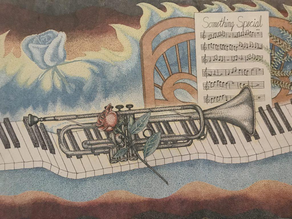 Trumpet Collage