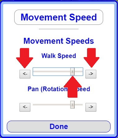 Movement Speeds