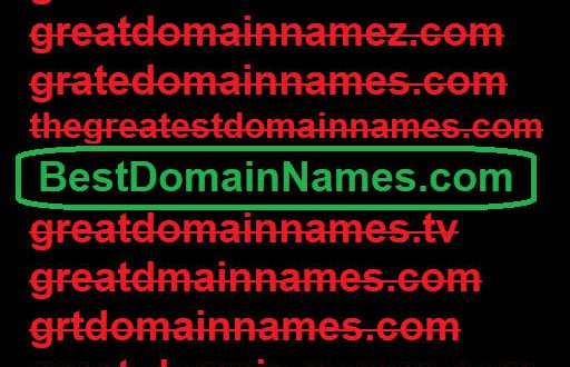 Best Domain Names