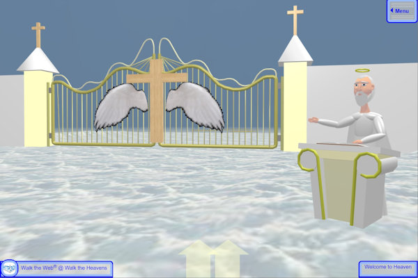 St Peter and the Pearly Gates
