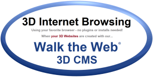 Walk the Web - 3D CMS