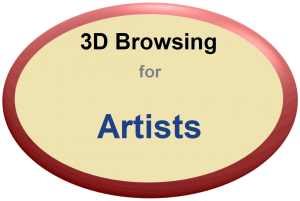 3D Browsing for Artists