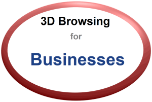 3D Browsing for Businesses