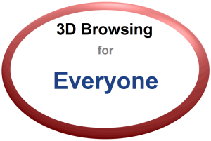 3D Browsing for Everyone