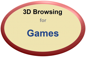 3D Browsing for Games