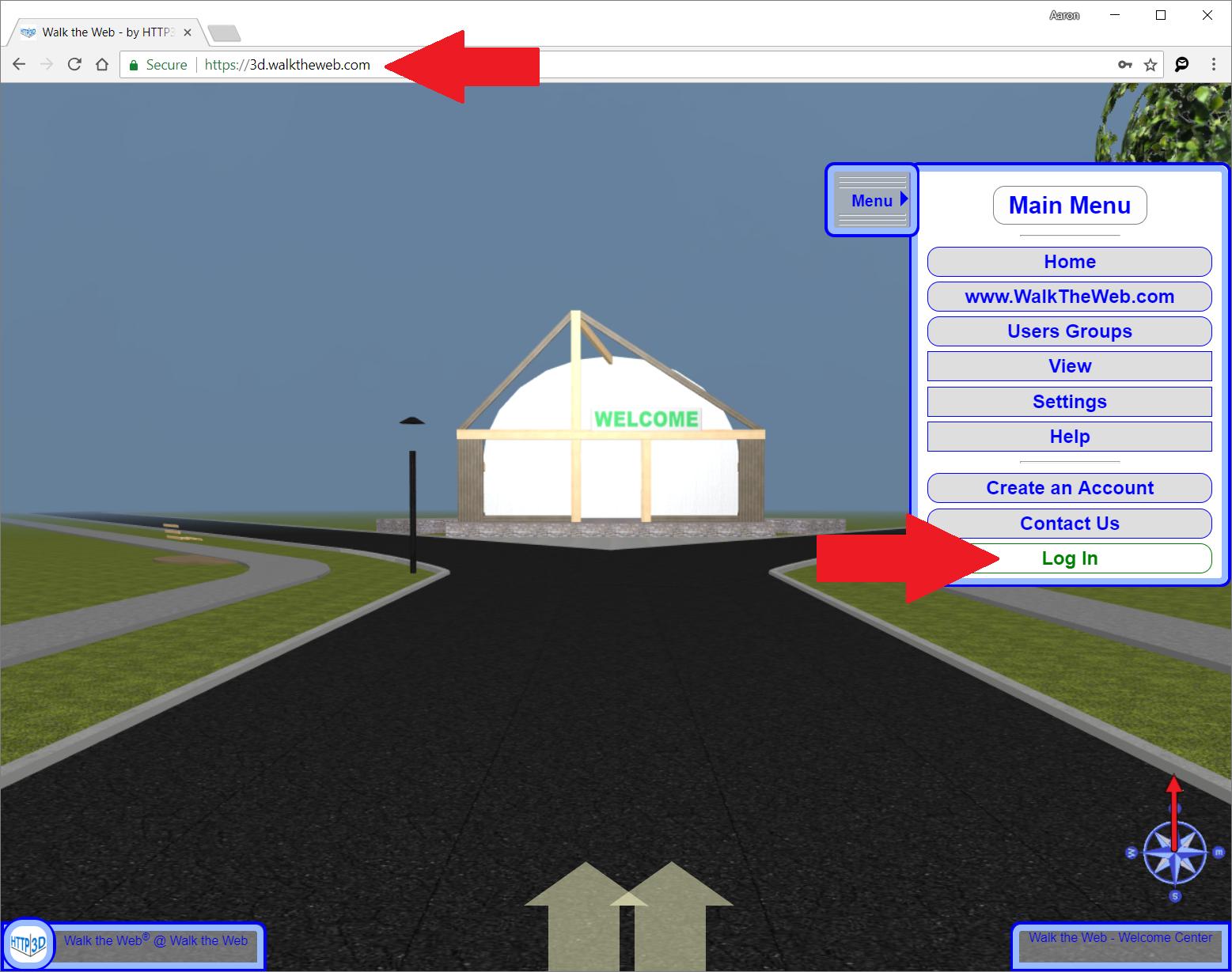 3D Websites Admin