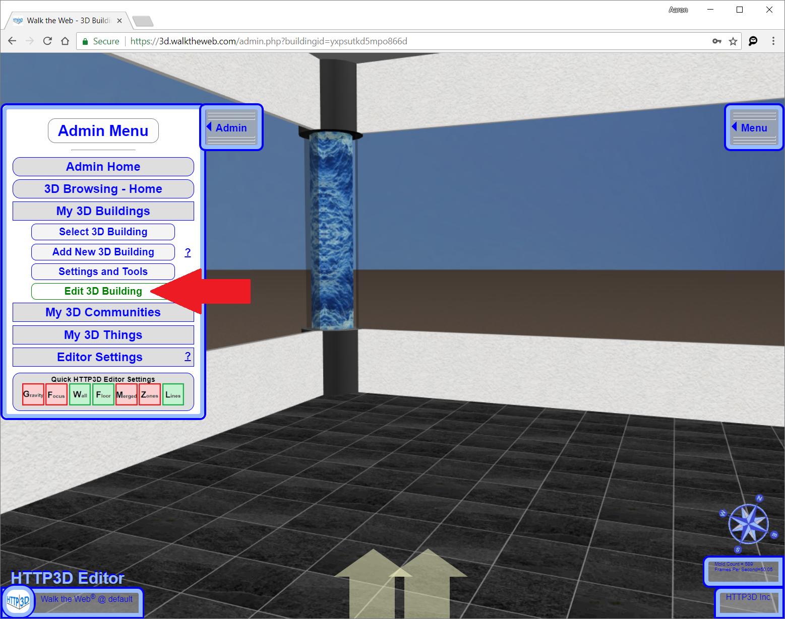 Edit 3D Building