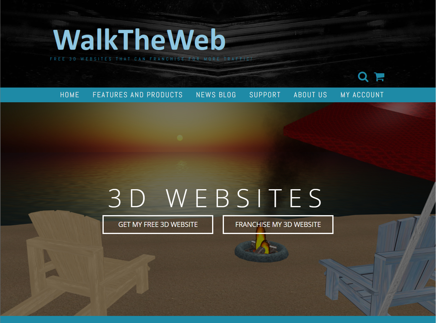 WalkTheWeb – FREE 3D Websites that can Franchise for More