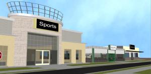 3D Community Scene